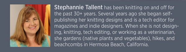 Aran Knitting, Stephannie Tallent Bio