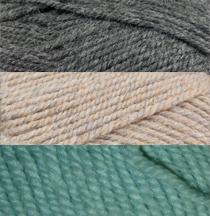 Aegean Dreams Crocheted Afghan Kit_Yarn