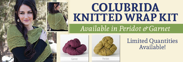 Colubrida Knitted Wrap Kit
