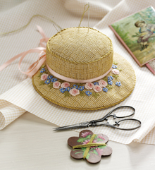 A Petit Chapeau Pincushion to Embroider