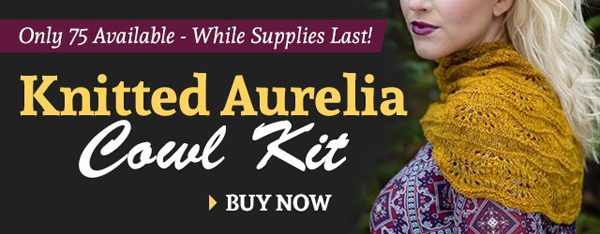 Knitted Aurelia Cowl Kit