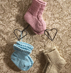 Better-Than-Booties Baby Socks