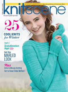 Knitscene Winter digital magazine