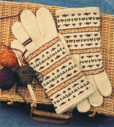 Romantic Gloves to Knit