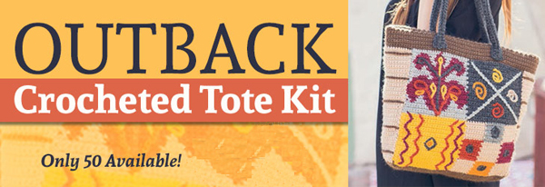 Outback Crocheted Tote Kit