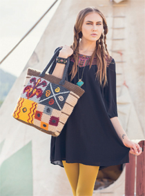 Outback Crocheted Tote