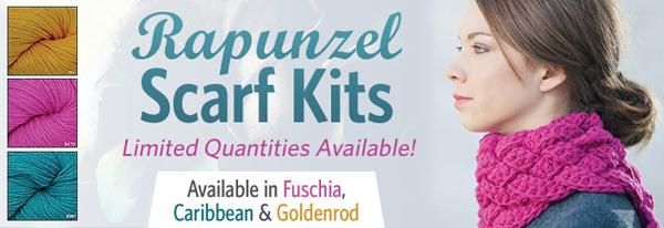 Rapunzel Scarf Kit