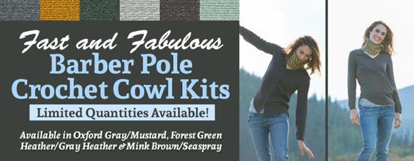 Fast & Fabulous Barber Pole Cowl Kit