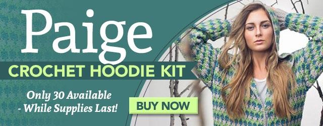 Paige Crochet Hoodie Kits