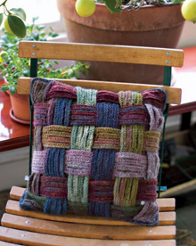 Basket Weave Pillow Crochet Pattern