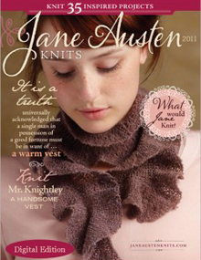 Jane Austen Knits, 2011
