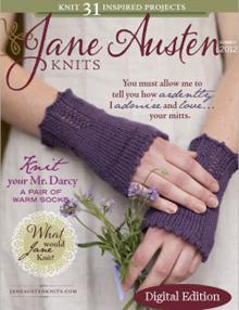 Jane Austen Knits, Summer 2012