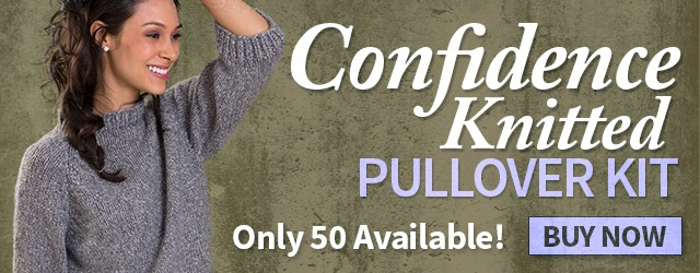 Confidence Knitted Pullover Kit