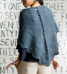 Stepping Stones Knitted Shawl Kit