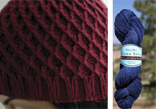 Koolhaas Hat Kit in Blueberry