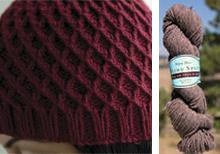 Koolhaas Hat Kit in Natural Brown