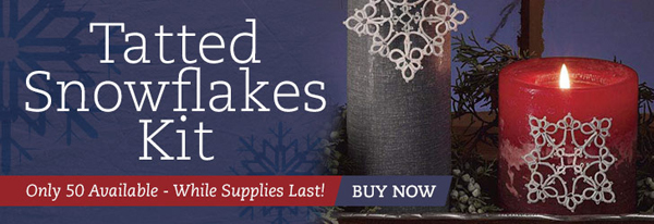 Tatted Snowflakes Kit