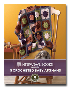 5 Crocheted Baby Afghans eBook