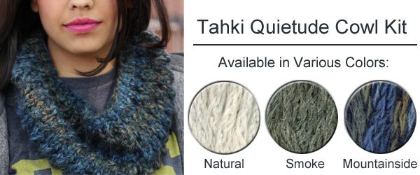 Tahki Quietude Cowl Kits