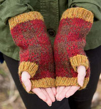 Bucheron Mitts by Mary Jane Mucklestone