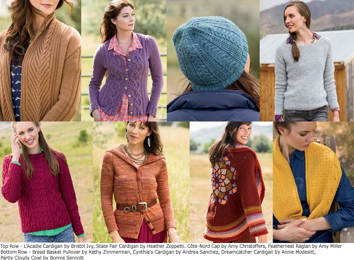 Just a few of the projects inside the Winter 2014 issue of Interweave Knits