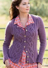 State Fair Cardigan by Heather Zoppetti