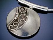 Norse Shield Pendant by Debra Carus