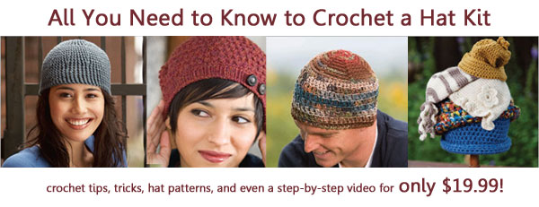 crochet hat kit
