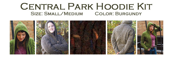 central park hoodie kit small