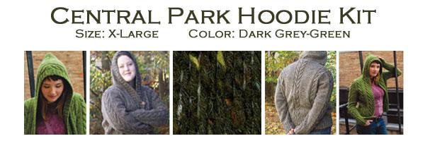 central park hoodie xlarge kit