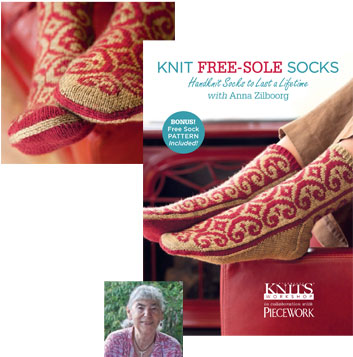 knit free sole socks DVD