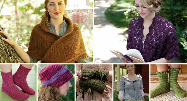 Jane Austen Knitting Patterns : Jane Austen Knits, Fall 2012 Print Edition