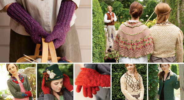 Jane Austen Knitting Patterns : Jane Austen Knits Fall 2012 Knitting Patterns Shawls Hats Lace Baby Bolera Socks