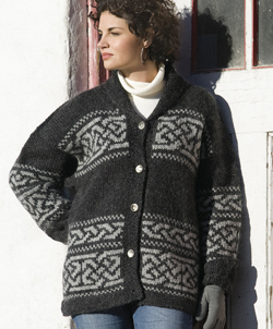 Northwest Celtic Jacket from Knitted Jackets by Cheryl Oberle