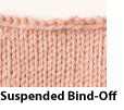 Suspended Bind-Off