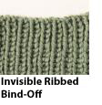 Invisible Ribbed Bind-Off