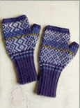 Fresco Fair Isle Mitts