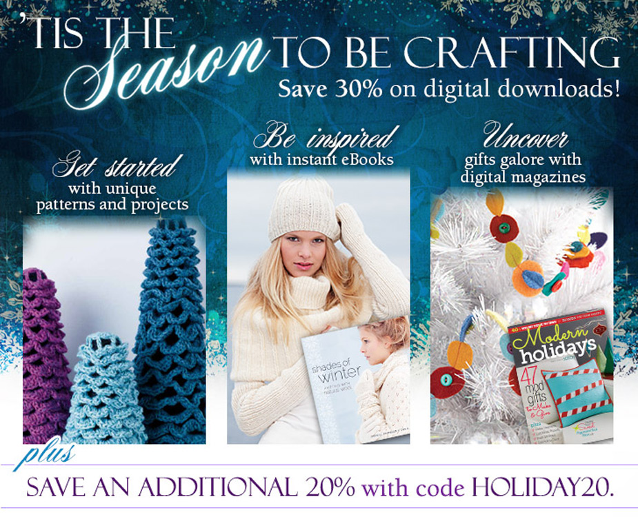 Tis' the Season for Crafting - Save 30% on downloads + an additional 20% with Code HOLIDAY20