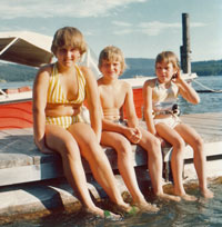 The Cubley Kids at Lake Coeur d'Alene