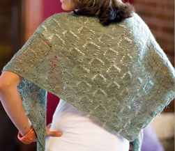 Tourmaline Shawl