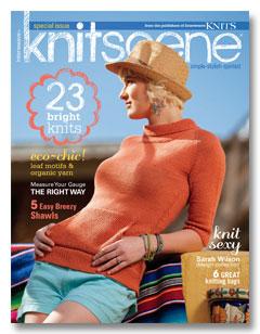 knitscene summer 2012