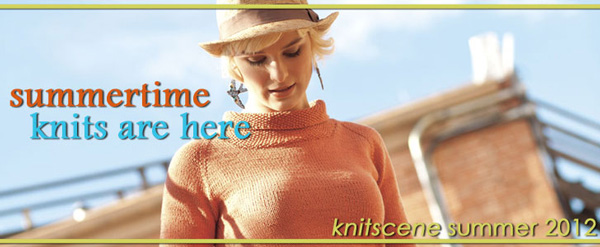 knitscene summer 2012