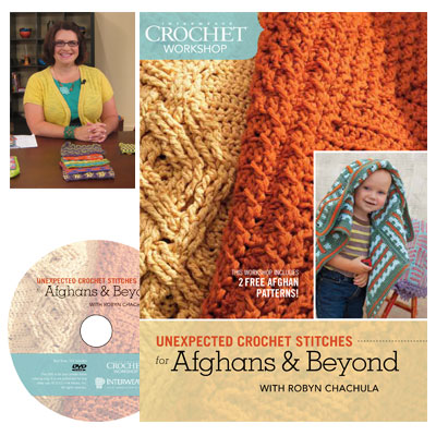unexpected crochet for afghans cover