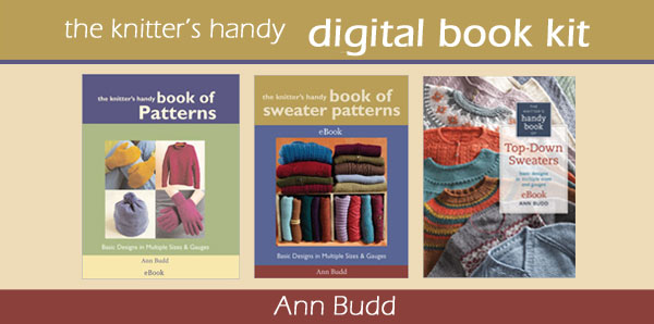 digital knitter's handy guide kit