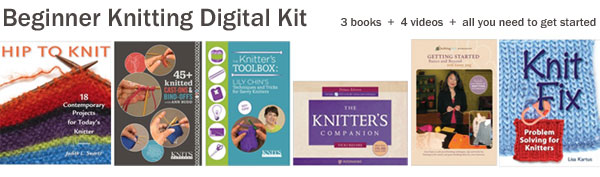 beginner knitting digital kit