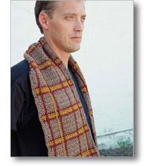 bearsden plaid scarf