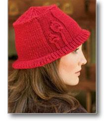 leafed hat