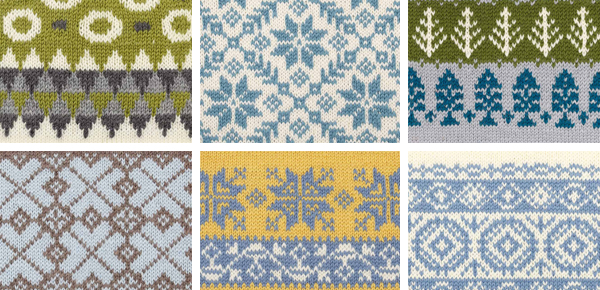 Motif Knitting Patterns : 150 Scandinavian Motifs