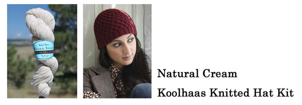 natural cream koolhaas hat kit