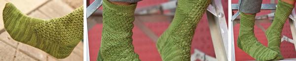 Wasabi Pea Socks